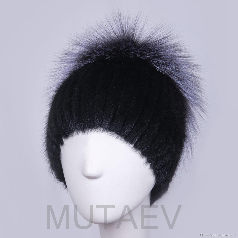 Women's fur hat Daisy, Caps, Moscow,  Фото №1