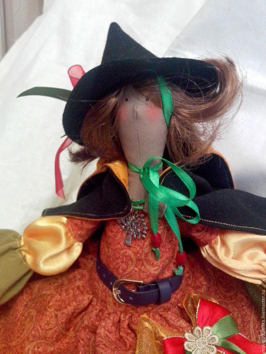 Куклы Тильды ручной работы. Ярмарка Мастеров - ручная работа. Купить Волшебница (КОЛДУНЬЯ). Handmade. Кукла ручной работы, хлопок
