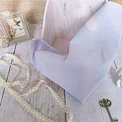 Ткани ручной работы. Ярмарка Мастеров - ручная работа Батист нежно сиреневый. Handmade.