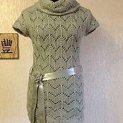Одежда handmade. Livemaster - original item Tunic knitted openwork. Handmade.