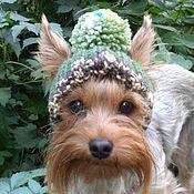 Для домашних животных, ручной работы. Ярмарка Мастеров - ручная работа шапка для собак,шапки для собаки,одежда для собаки,для маленьких собак. Handmade.