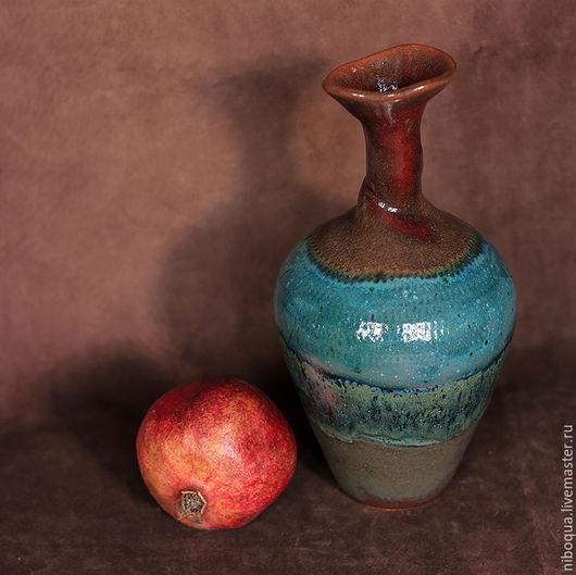 Вазы ручной работы. Ярмарка Мастеров - ручная работа. Купить Ваза-бутылка Dali. Handmade. Красивая ваза, стильная ваза