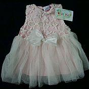 Куклы и игрушки ручной работы. Ярмарка Мастеров - ручная работа Платье розовое. Handmade.