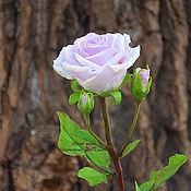 """Цветы и флористика ручной работы. Ярмарка Мастеров - ручная работа Роза """"Liliac"""". Handmade."""