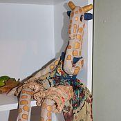 Куклы и игрушки ручной работы. Ярмарка Мастеров - ручная работа Эмми, золотая жирафа. Handmade.