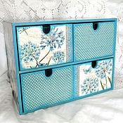 Для дома и интерьера handmade. Livemaster - original item Mini-chest of drawers-Dark horoscopy. Handmade.