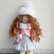 Куклы и пупсы ручной работы. Ярмарка Мастеров - ручная работа Кукла текстильная интерьерная ручной работы Паулина. Handmade.
