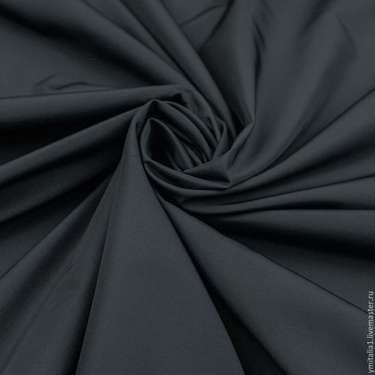 Шитье ручной работы. Ярмарка Мастеров - ручная работа. Купить Плащевая ткань водонепроницаемая   ESCADA сизо-синяя. Handmade. Комбинированный