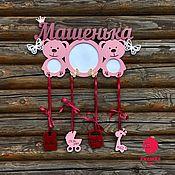 Для дома и интерьера handmade. Livemaster - original item Metrics with cubs!. Handmade.