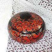 Для дома и интерьера handmade. Livemaster - original item Box cedar Flower ornament. Handmade.