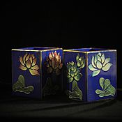 Канцелярские товары handmade. Livemaster - original item A couple of pencil Night Lotus. Handmade.