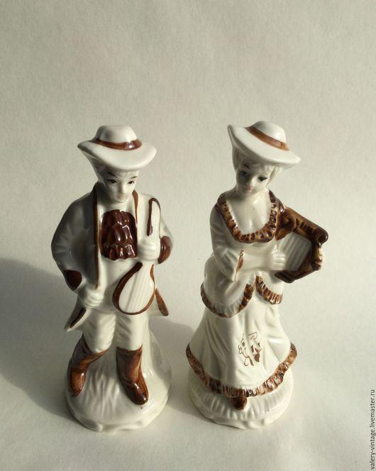 Винтажные сувениры. Ярмарка Мастеров - ручная работа. Купить Винтажные статуэтки, 1980-е годы.. Handmade. Фарфор, фарфоровые статуэтки