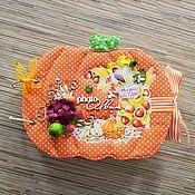 Канцелярские товары handmade. Livemaster - original item Photo albums: Autumn photo album