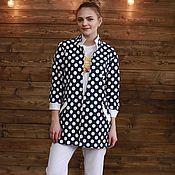 """Одежда ручной работы. Ярмарка Мастеров - ручная работа Пиджак """"Горох"""". Handmade."""