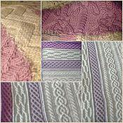 Для дома и интерьера handmade. Livemaster - original item Plaid knitted. Handmade.