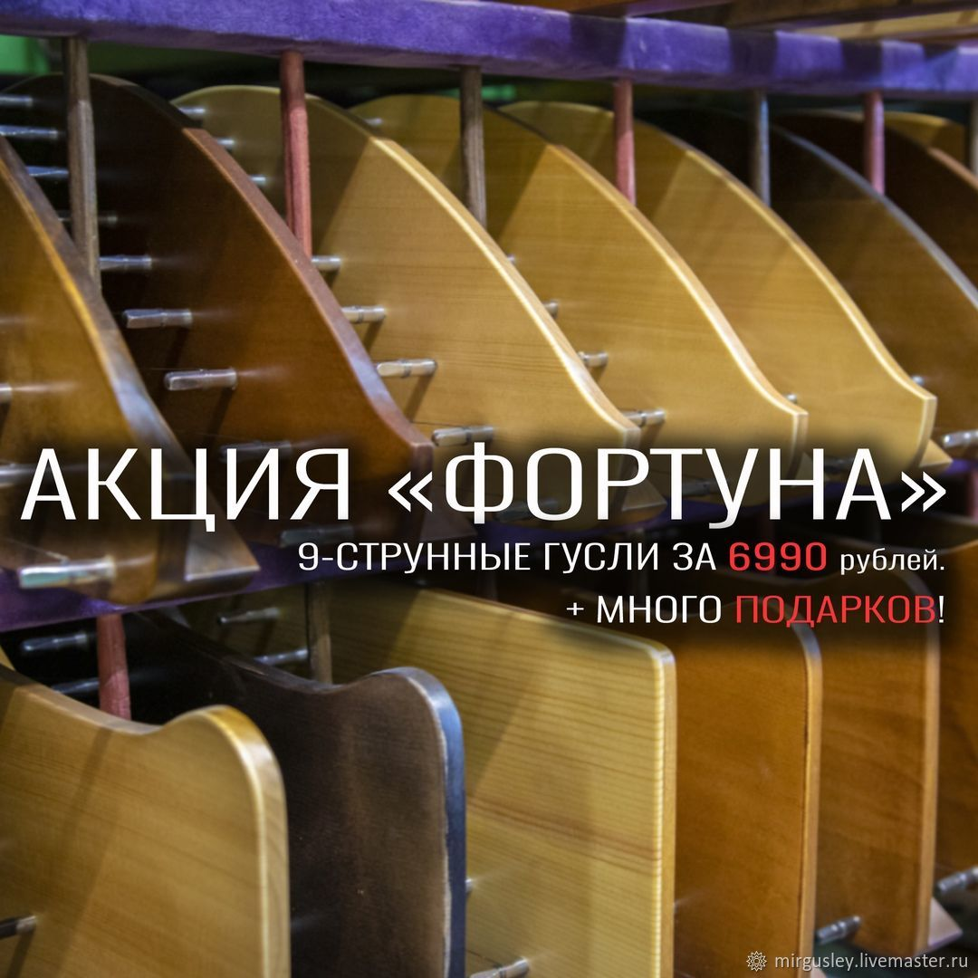 Harp: Promotion for 9-string psaltery 'Fortuna», Zither, Tver,  Фото №1