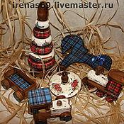 Для дома и интерьера ручной работы. Ярмарка Мастеров - ручная работа Комплект детских игрушек для АРТЁМА.. Handmade.