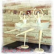 Куклы и игрушки ручной работы. Ярмарка Мастеров - ручная работа Балерина по мотивам Tilda. Handmade.
