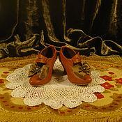 Куклы и игрушки ручной работы. Ярмарка Мастеров - ручная работа Кукольные туфельки. Handmade.