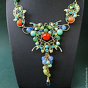 Украшения handmade. Livemaster - original item Necklace Secret Garden (variant). Handmade.