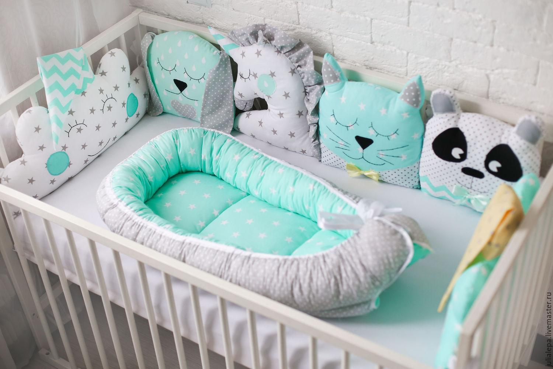 Кокон своими руками для детской кроватки