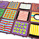 Развивающие игрушки ручной работы. Радужные кубики. Крокозяблик (Аня). Ярмарка Мастеров. Кубики, числа, деревянные палочки