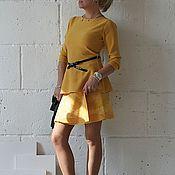 """Одежда ручной работы. Ярмарка Мастеров - ручная работа Юбка. Валяная ,ручной работы """" Солнца луч"""". Handmade."""