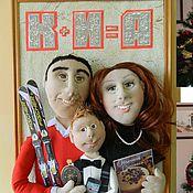 Куклы и игрушки ручной работы. Ярмарка Мастеров - ручная работа Счастливая семья. Куклы по фотографии. Handmade.