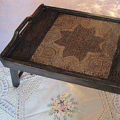 Для дома и интерьера ручной работы. Ярмарка Мастеров - ручная работа столик ,. кружево,,. Handmade.