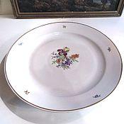 Винтаж handmade. Livemaster - original item Great dish IRIS Dulevo 60s. Handmade.