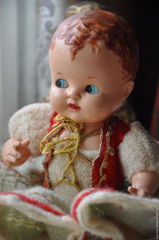 Винтажные куклы и игрушки. Ярмарка Мастеров - ручная работа. Купить Малышка. Handmade. Разноцветный, коллекционная кукла