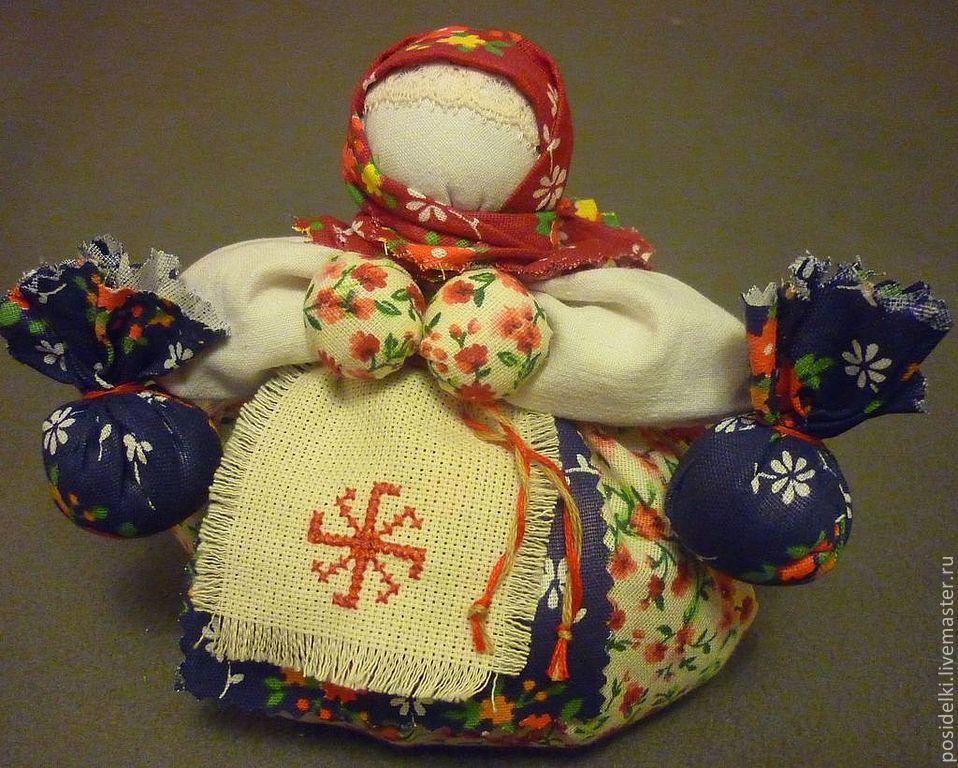 """Кукла """"Травница - Кубышка"""", Народная кукла, Калуга,  Фото №1"""