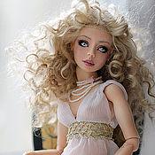 Куклы и игрушки ручной работы. Ярмарка Мастеров - ручная работа Мелина фарфоровая шарнирная кукла. Handmade.
