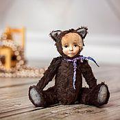 Куклы и игрушки ручной работы. Ярмарка Мастеров - ручная работа Малышка Бусинка. Тедди долл. Handmade.