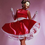"""Одежда ручной работы. Ярмарка Мастеров - ручная работа Платье в стиле 60-х гг из коллекции """"Diamond"""". Handmade."""