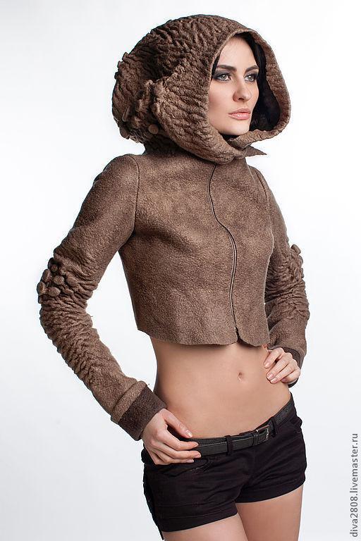 Пиджаки, жакеты ручной работы. Ярмарка Мастеров - ручная работа. Купить Куртка  женская. Handmade. Авторская работа, дизайнерская одежда