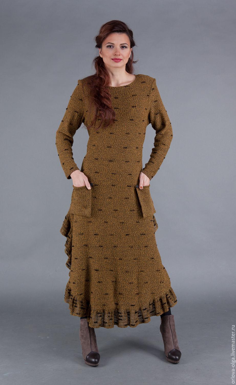 Теплые платья авторские