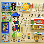 Куклы и игрушки handmade. Livemaster - original item Developing Board Module Basebrd
