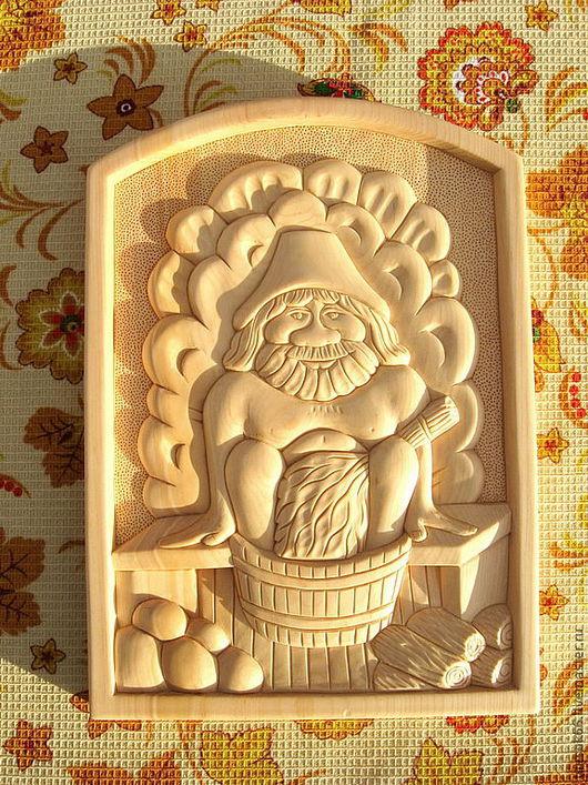 Банные принадлежности ручной работы. Ярмарка Мастеров - ручная работа. Купить Резное панно из дерева. Handmade. Панно, панно на стену