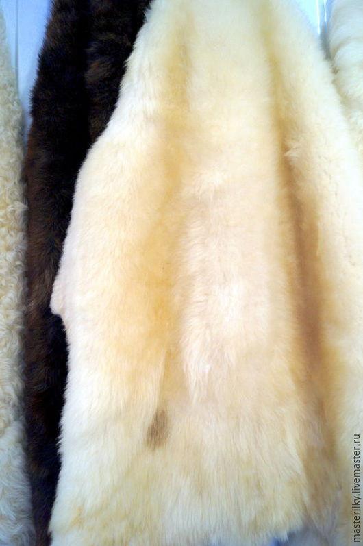 Текстиль, ковры ручной работы. Ярмарка Мастеров - ручная работа. Купить Шкура овечья. Handmade. Золотой, натуральная шерсть