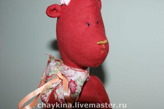 Игрушки животные, ручной работы. Ярмарка Мастеров - ручная работа. Купить Винтажная Тамара. Handmade. Авторский медведь, подарок