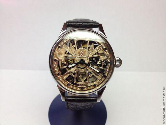 Часы ручной работы. Ярмарка Мастеров - ручная работа. Купить Брутальные мужские часы ручной работы. Викинг. Handmade.