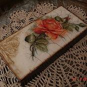 Для дома и интерьера ручной работы. Ярмарка Мастеров - ручная работа Купюрница. Handmade.