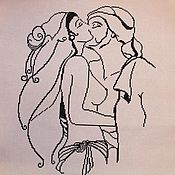 Картины ручной работы. Ярмарка Мастеров - ручная работа Картины: Поцелуй страсти. Handmade.