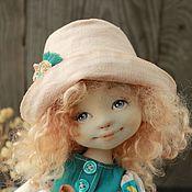 Куклы и игрушки ручной работы. Ярмарка Мастеров - ручная работа Текстильная авторская кукла Лиза. Handmade.