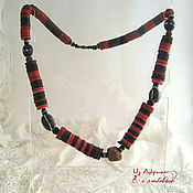 Украшения handmade. Livemaster - original item African adornment tribal chief. Strong amulet. Handmade.