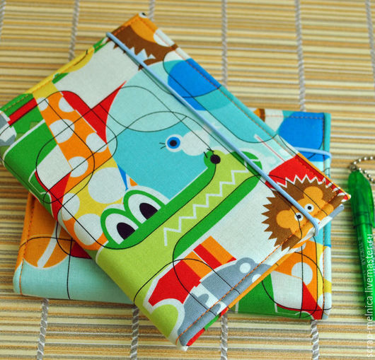 Блокноты ручной работы. Ярмарка Мастеров - ручная работа. Купить Блокнот Детское расписание Мой зоопарк Подарок на 1 сентября. Handmade.