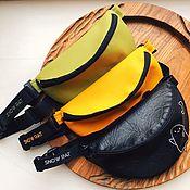 Поясная сумка ручной работы. Ярмарка Мастеров - ручная работа Поясная сумка SNOW RAT. Handmade.