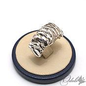 Украшения handmade. Livemaster - original item Silver 925 ring xXx. Handmade.