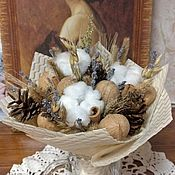 Букеты ручной работы. Ярмарка Мастеров - ручная работа Букеты: Осенняя нежность. Handmade.